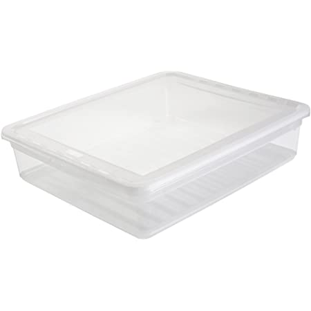 keeeper Clearbox with Air Control System, 39x33.5x9 cm, 9 Litre, Bea, Transparent