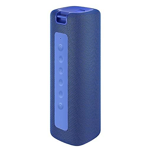 Haut-parleur Bluetooh Étanche IPX7 Effet sonore stéréo Fête extérieure Essential Buetooth 5.0 Non glissant Durable Autonomie de la batterie (Blue)