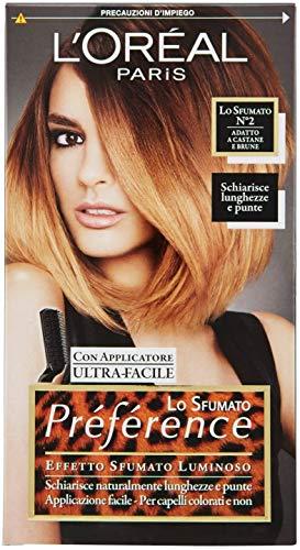 L'oréal Paris Préférence Lo Sfumato, Colorazione Effetto 2 Castane E Brune