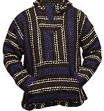 Del Mex Deluxe Mexican Baja Hoodie Sweatshirt Pullover...