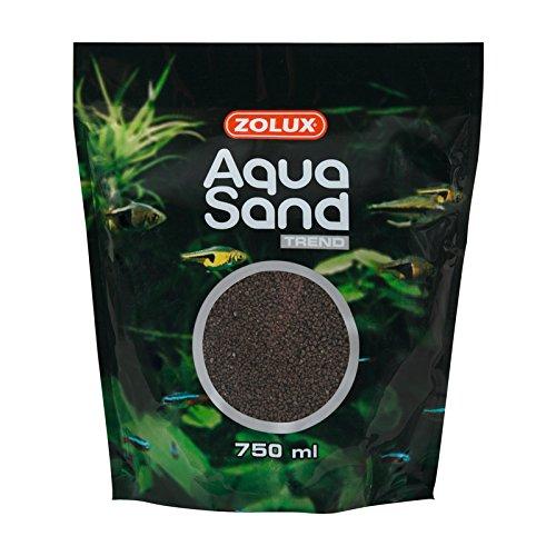 Zolux Aquasand Sable pour Aquarium Brun Caviar 750 ML