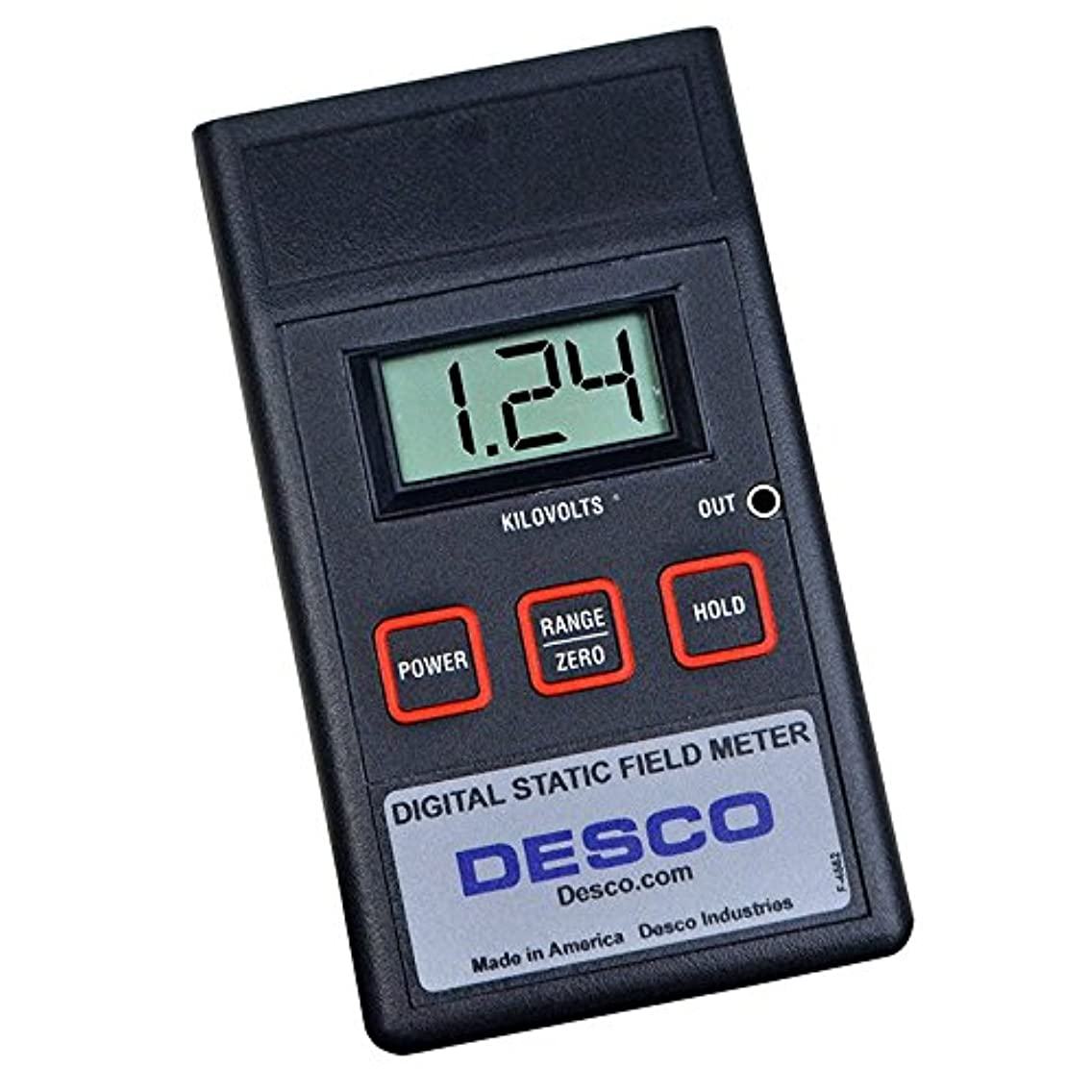 クライアント高架流すDesco 19492 Digital Static Field Meter, +/-19.99kV Power Supply by Desco