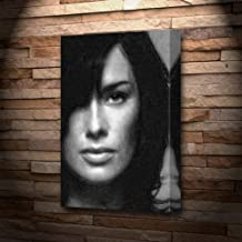 LENA HEADEY - Canvas Print (LARGE A3 - Signed by the Artist) #js006