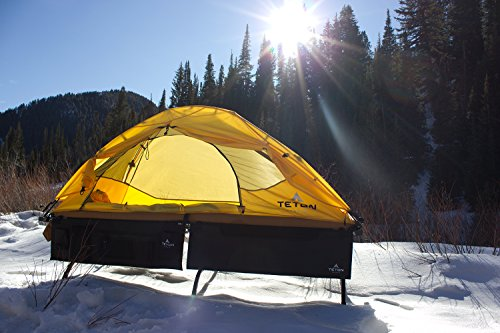 TETON Sports Outfitter Quick Tent; One-Person Pop-Up Tent; Instant Setup – Less Than 1 Min; Camping and Backpacking Tent; Easy Clip-On Rainfly Included, Outfitter Quicktent w/locking mechanism