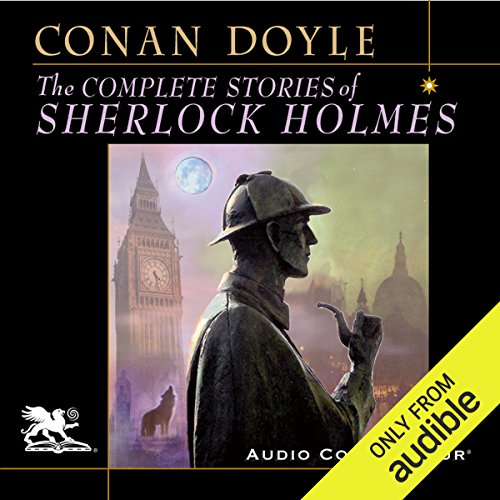 The Complete Stories of Sherlock Holmes                   By:                                                                                                                                 Arthur Conan Doyle                               Narrated by:                                                                                                                                 Charlton Griffin                      Length: 70 hrs and 48 mins     2,031 ratings     Overall 4.7