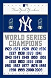 Trends International MLB New York Yankees - Champions, 22.375' x 34', Unframed Version