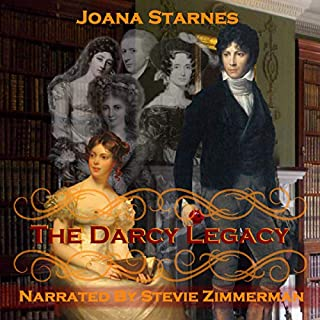 The Darcy Legacy: A Pride and Prejudice Variation                   By:                                                                                                                                 Joana Starnes                               Narrated by:                                                                                                                                 Stevie Zimmerman                      Length: 15 hrs and 17 mins     55 ratings     Overall 4.6