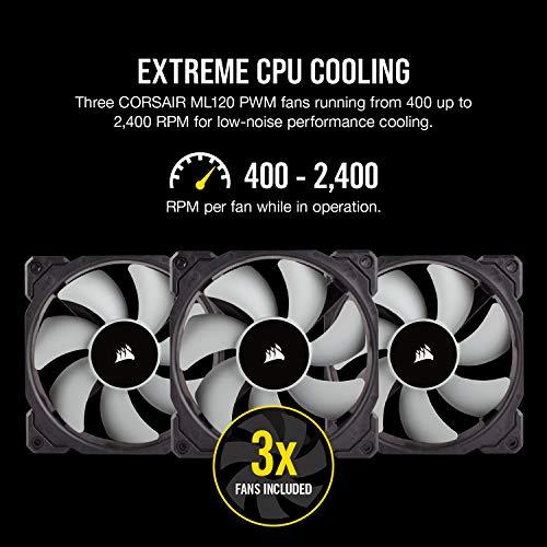 『Corsair H150i PRO RGB 水冷CPUクーラー [Intel/AMD両対応] FN1149 CW-9060031-WW』の5枚目の画像