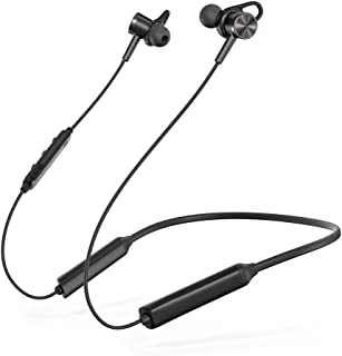 TaoTronics Active Noise Cancelling Neckband Bluetooth Headphones ANC Bluetooth 5.0 Wireless Headphones with Built-in Magnets IPX5 Splashproof 16 Hour Playtime [2019 Upgrade]
