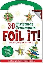 Punch-Out 3-D Christmas Ornaments Foil It! Activity Kit by Peter Pauper Press (2014-07-17)