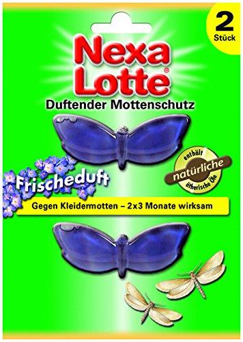 Nexa Lotte Lot de 2 sachets parfumés de Protection antimites à l'huile de Lavande