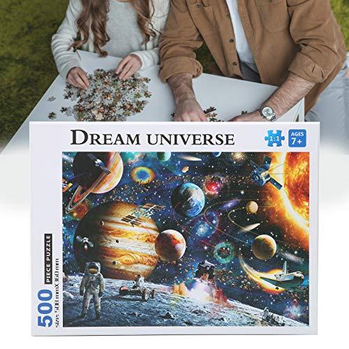 Jigsaw Puzzle Buffalo, Juguete Educativo de 500 Piezas, para niños, niñas, jardín de Infantes(Puzzle)