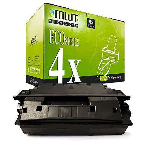 4X MWT kompatibel Toner fur HP Laserjet 4000 4050 SE T TN N ersetzt C4127X
