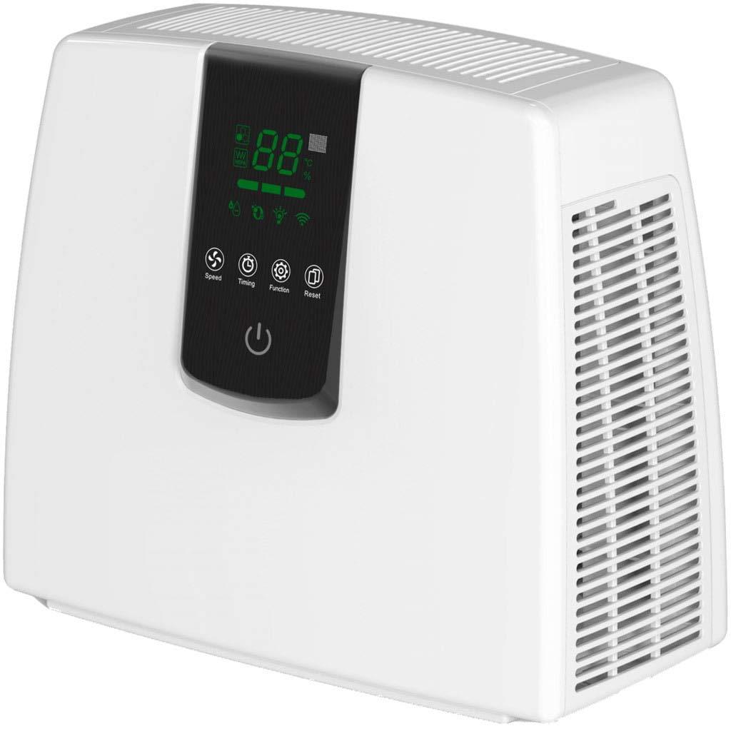 Jordanoshop Purificador de Aire ionizador máximo 30 m2 36 W 3 velocidades Karlsen Ruby Pure 75 Plus Blanco: Amazon.es: Hogar