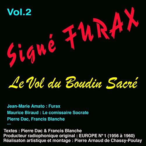 Couverture de Le vol du boudin sacré (Signé Furax 2)