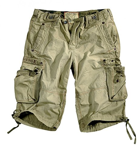 Alpha Industries Terminal Shorts, Größe:32;Farbe:Olive