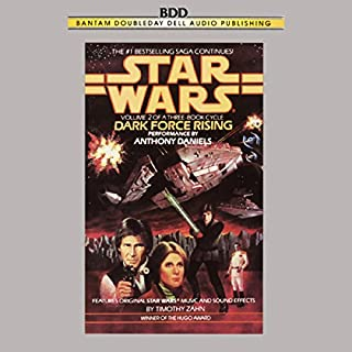 Star Wars: The Thrawn Trilogy, Book 2: Dark Force Rising audiobook cover art
