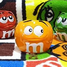 エムアンドエム M&Ms フェイス マグカップ オレンジ