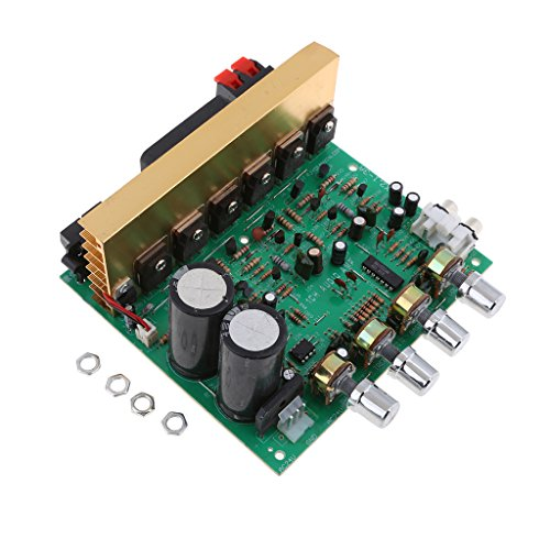 HiFi 200W Audio Power 2.1 Channel Amplifier Stereo Module Development Board 143x133x58mm