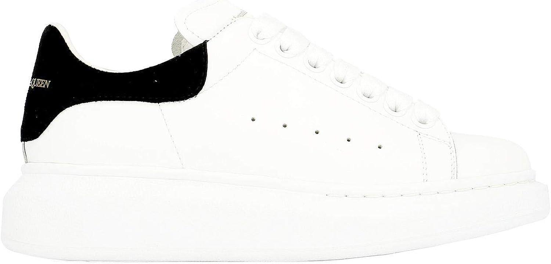 Alexander McQueen Women's 553770WHGP79061 White Leather Sneakers