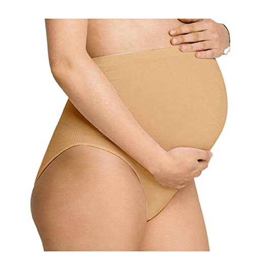 Buy NewMom Seamless Maternity Support Panty for Women! Over-The-Belly Maternity Panties for Belly Support ! No Sewing or No Stitches! at Amazon.in