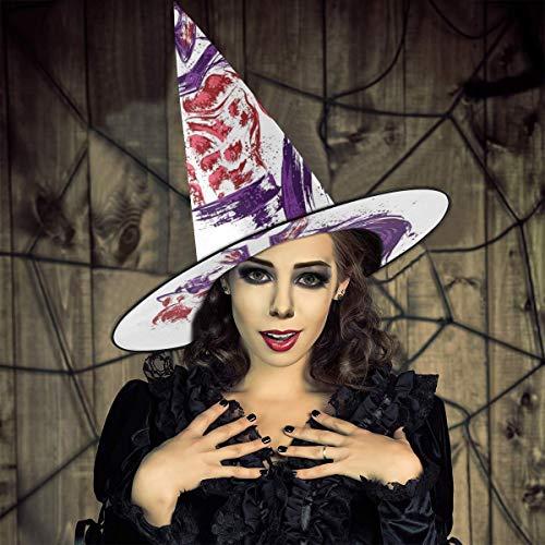 AISFGBJ X Herren Magneto Hexenhut Halloween Kostüm für Urlaub Halloween Weihnachten Karneval Party