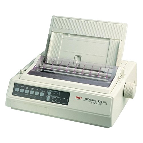 Fantastic Deal! OKI 62411703 MicroLine 321 Turbo Printer - B/W - Dot-Matrix - 240 DPI x 216 DPI (Ren...