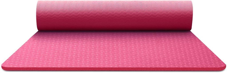 KYCD Eco Yoga-Matte Extra Large Rutschfeste Pilates-Matte Starke TPE Trainings-Trainingsmatte mit freiem Tragegurt für den Fitnessbereich