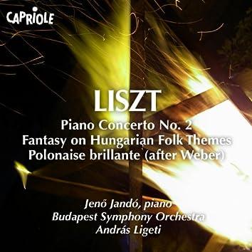 Liszt, F.: Piano Concerto No. 2 / Fantasy On Hungarian Folk Themes / Weber - Polonaise Brillante / Weber - Freischutz Fantasie