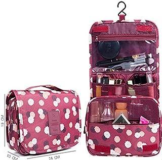 حقائب تخزين - حقائب تخزين أدوات الزينة للسفر ومنظم مستحضرات التجميل بالجملة الكثير من إكسسوارات المنتجات (خمري)