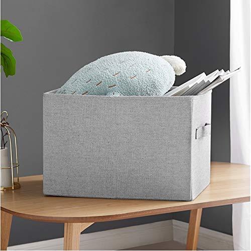 BBGSFDC Tela engrosamiento caja de almacenamiento acabado caja de almacenamiento de ropa escombros colcha a prueba de polvo ahorro de espacio caja grande