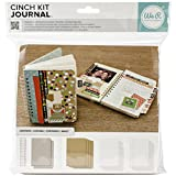 We R Memory Keepers Cinch Journal Kit 8'X 9'-Cover, pagine & Wire