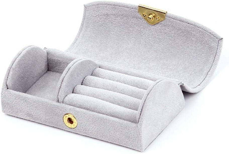 Jewelry Box Organiser Cases Bead Portable Omaha Mall Sto Bombing free shipping Velvet