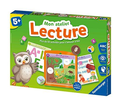 Ravensburger- Jeu Educatif- Mon atelier lecture- A partir de 5 ans- 24074