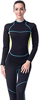 Women's Diving Suit Rubber Full Body Warm and Comfortable Diving Suit for Diving Snorkeling and Swimming