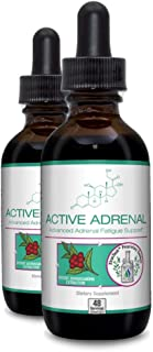 Active Adrenal - Advanced Adrenal Fatigue Supplement - All Natural Liquid Formula for 2X Absorption - Ashwagandha, B-Vitam...