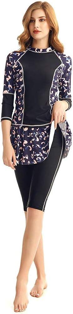 Women's Rash Guard Long Japan's largest assortment Sleeve Swimwear Swimsuit Max 50% OFF Skirt Set Swim