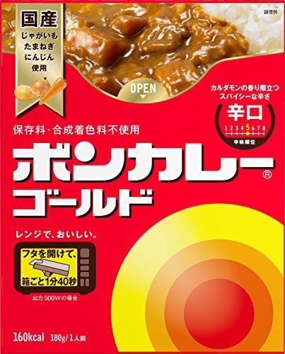 大塚食品 ボンカレーゴールド 辛口 180g 30コ入り