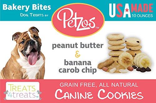 Petzos Hypoallergenic Dog Treats-Banana & Peanut Butter