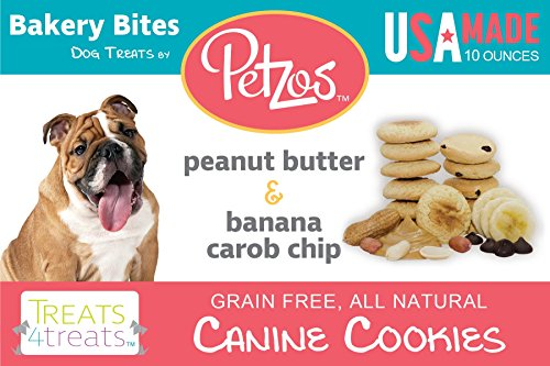Petzos Hypoallergenic Dog Treats-Banana & Peanut Butter