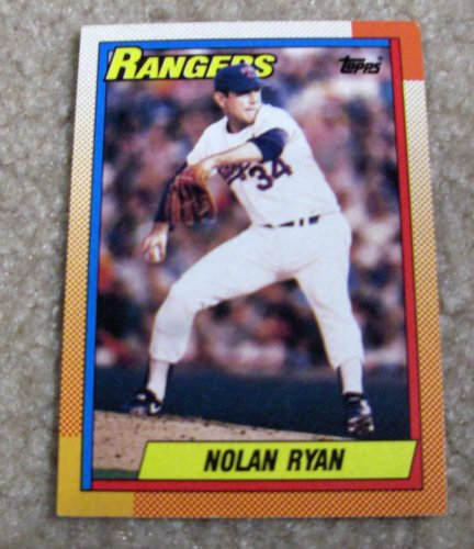 1990 Topps Nolan Ryan # 1 MLB Baseball Card