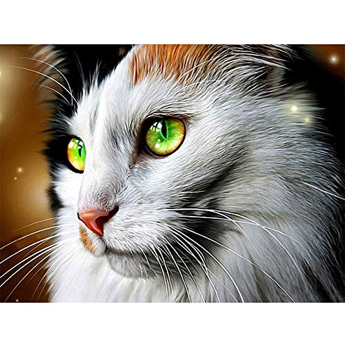 LWCOTTAGE 5D FAI Da Te Diamante Pittura,5D DIY Diamond Painting Cross Ctitch Kits Wall Sticker Diamond Art Animal Mosaic Embroidery Painting Square Drill Gift,12,30X45Cm Square Drill