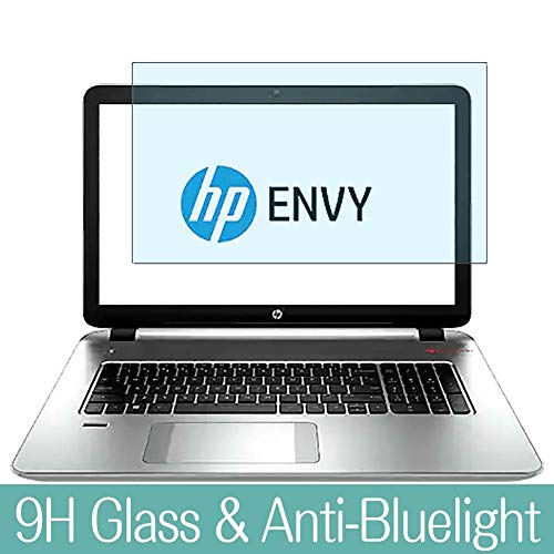 Fantastic Prices! Synvy Anti Blue Light Tempered Glass Screen Protector Compatible with HP Envy 17-k...