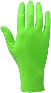 Magid ComfortFlex Complete T9556HV Hi-Viz Green 5 mil Powder-Free Nitrile Disposable Glove (100 Gloves)