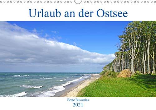 Urlaub an der Ostsee (Wandkalender 2021 DIN A3 quer)