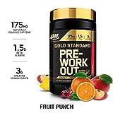 Optimum Nutrition Gold Standard Pre workout con Creatina, Beta Alanina y Cafeína