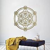 Nuevo patrón de papel tapiz de vinilo pegatinas creativas decoración del hogar pegatinas de vinilo para pared calcomanías de arte mural A9 43x48cm