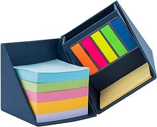 YoNiYar 強粘着 付箋50枚7.5x5cm メモ用紙 500枚7.5x7.5cm 125枚ブックマーク0.5x1.2cm