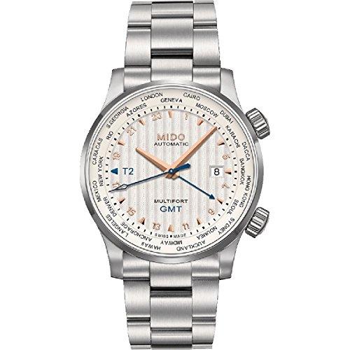 Mido Herren Chronograph Automatik Uhr mit Edelstahl Armband M005.929.11.031.00