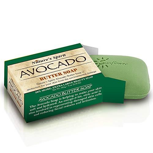 Nature's Spirit Beurre d'Avocat Savon 140 g (lot de 6)